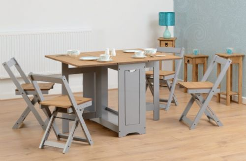 Emilia Grey Butterfly Dining Set